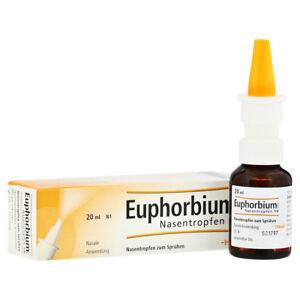 HEEL Euphorbium Compositum 20ml Nasal Spray Homeopathic Remedies