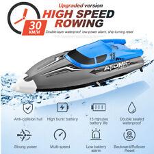30km/h RC Speedboot 2.4G 4CH Ferngesteuertes Boot IPV7 Wasserdichtes Racing Boat