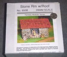 Stone Room w/Roof - 28mm - Fantasy Series - #6508 JR Miniatures <NEW-SEALED> OOP