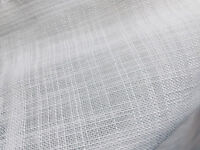 White Inbetween Voile Tulle Organza Fabric sheer curtain net 300cm EXTRA WIDE