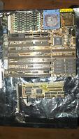 Asus ISA-486 Rev3.1 + GPU Tseng Labs ET3000AX & RAM