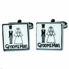 Groomsman Sonia Spencer Wedding Cufflinks Brand New