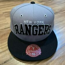 newest collection 5f318 ecd3e New ListingNHL New York Rangers Mitchell   Ness Wool Gray Fitted Cap Size 7