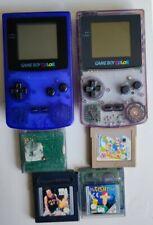 2Nintendo Game Boy Color + 4 Spiele