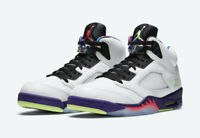 Nike Air Jordan Retro V 5 BEL AIR Alternate 2020 Mens Size 9.5 DB3335-100 White