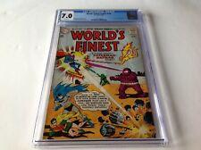 WORLDS FINEST COMICS 134 CGC 7.0 WHITE PS BATMAN SUPERMAN GREEN ARROW DC COMICS