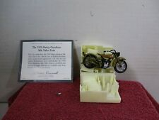 1/24 SCALE FRANKLIN MINT 1929 HARLEY DAVIDSON SIDE VALVE TWIN
