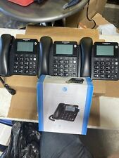 AT&T CL2940 Corded Speakerphone with Large Tilt Display & Large Buttons Lot Of 4