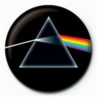 Dark Side Badge Bouton C - Pink Floyd Moon