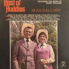 RICK & THEL CAREY - BEST OF BUDDIES (Buddy Williams songs)1973 Australia