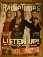 RADIO TIMES DOCTOR WHO 13th JANUARY 2007 FREE AUDIO CD THE STONE ROSE PART 1