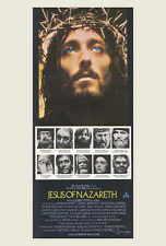 JESUS OF NAZARETH Movie POSTER 27x40 Australian Robert Powell Anne Bancroft