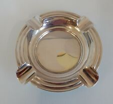 More details for solid silver circular ashtray. mappin & webb, sheffield 1941. c 86g.