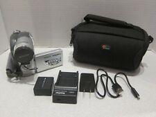 Hitachi Dz-Bx35A Dvd Camcorder Cinema Res 1200X Digital Zoom+1Gb+Disc
