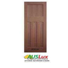 Edwardian 4 panel flat shaker solid timber internal external house entry door
