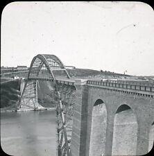 LA ROCHE BERNARD c. 1910 - Le Viaduc - Bretagne Positif Verre 10 x 8 - 22