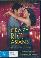 Crazy Rich Asians DVD NEW Region 4
