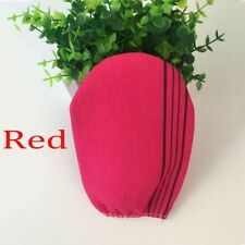 2colors Korean Italy Exfoliating Body-Scrub Glove Towel Green Red New