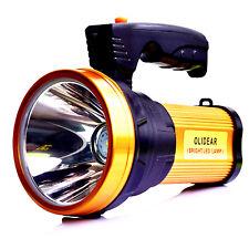 Olidear Rechargeable Spotlight Ultra Bright Flashlight LED Emergency searchlight