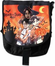 *NEW* Attack on Titan: Eren Levi Zoe Halloween Messenger Bag by GE Animation