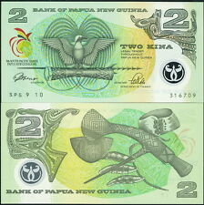 Papua New Guinea 2 Kina Polymer Note P-12 c.1991 9Th South Pacific Games - Unc!