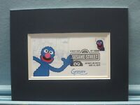 Jim Henson's Muppets & Sesame Street & First Day Cover of the Grover stamp