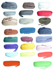 60cm BRITISH QUALITY Flat Shoe Laces – CHOICE OF COLOURS