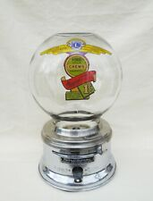 Penny  FORD Counter Top Glass Globe  penny Chicklet Vending Machine