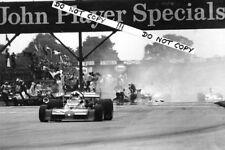 9x6 FOTOGRAFIA CHRIS AMON, Martini-TECNO PA123 British GP SILVERSTONE 1973
