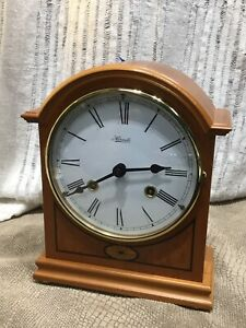 Mantle Clock by Hermle Clocks Key-wound 8 Day Hour & Half Hour Chime