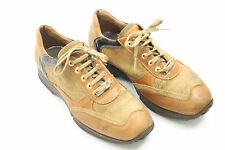 1^CLASSE ALVIERO MARTINI shoes  sz.6.5 (37) brown leather. Made in Italy S5235