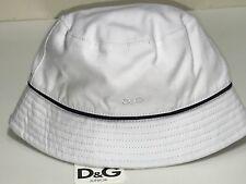D/&G New Kids Boys Baby LOGO FISHERMAN HAT CAP w// TRIM  Sz 6-12m RTL $50 Q342