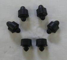 Gummi Puffer Satz für Simson Sitzbank schwarz 6-teilig KR51/1 KR51/2 SR4-1 usw.