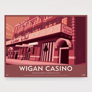"Reproduction ""Wigan Casino"" Poster"