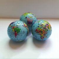 EB_ Globe Map Print Golf Ball Indoor Outdoor Beginner Practice Training Tool Mys