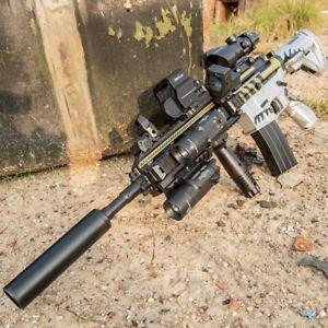 M416 ELECTRIC GEL BLASTER TOY GUN WATER CRYSTAL Kids Toy Gift + toy BULLETS