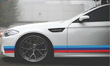 """79""""/2M French Stripe Car Stickers For BMW Exterior Cosmetic Hood Roof Bumper US"""
