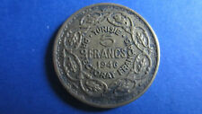 Tunesien 5 Franc 1946 Protectorat Frankreich in ss (1926)