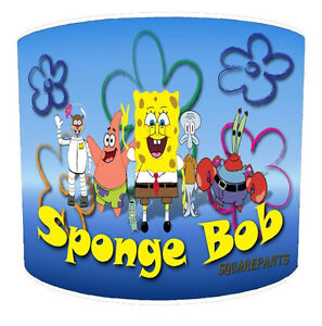 Lampshades Ideal To Match Spongebob Duvets & Bedding Wall Decals & Stickers