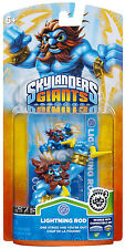 Skylanders & GIANTS & SWAP FORCE - Series 2 - LIGHTNING ROD - FREE 1ST CL SHPG