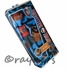 New | Monster High Holt Hyde Doll  Exclusive Swim 'Make a Splash' Mattel BBR82
