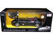 RASTAR R/C RADIO REMOTE CONTROL CAR MERCEDES BENZ SLR MCLAREN Z199 1/12 BLACK