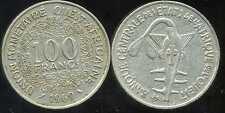 ETATS DE L'AFRIQUE DE L'OUEST  100 francs  1969   ( bis )