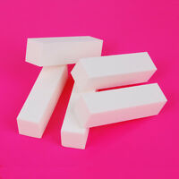 10X White Nail Art Buffing Buffer Block Sanding File Pedicure  Tools