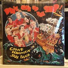 [SOUL/JAZZ]~NM LP~GRAND DOMINION JAZZ BAND~Don't Give Up The Ship~[1986~STOMP OF