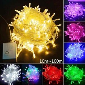Led light string fairy bulb strip Christmas Halloween 10m 20m 30m 50m 100m 220V
