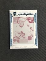 2016-17 THE CUP WILLIAM NYLANDER ROOKIE GEMS MASTERPIECES PRINTING PLATE #ed 1/1