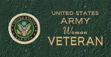 Army Woman Veteran   LP 474