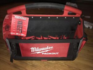 "Milwaukee Packout 20"" open top Tool Tote"