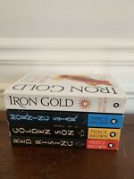 Lot of 4 Books by PIERCE BROWN ~ RED RISING Series ~ #1-4 ~ Good Condition